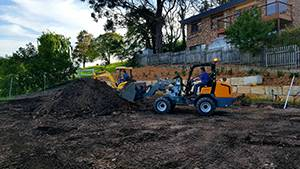 Compact Articulated Loader Giant V5003 Landscaping 15 contact us
