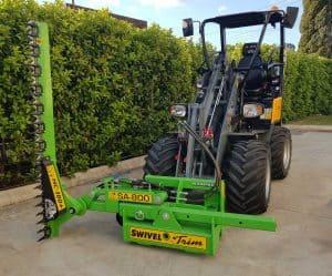 SA800 Hedge Cutter Slanetrac - Excavator & Mini Loader Delta Equipment